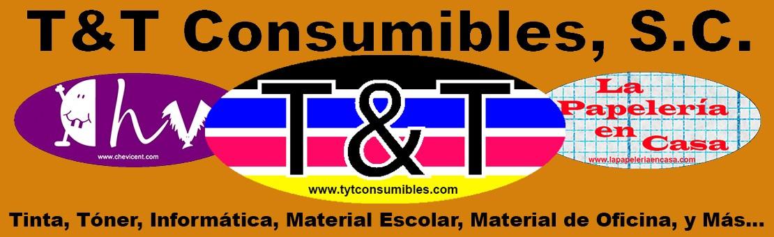 TyT consumibles, T&T Consumibles, Tinta, Toner, Equipos informáticos, Impresoras, Multifuncion